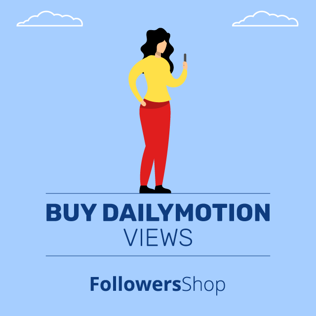 Buy Dailymotion Views - 100% Real & Active