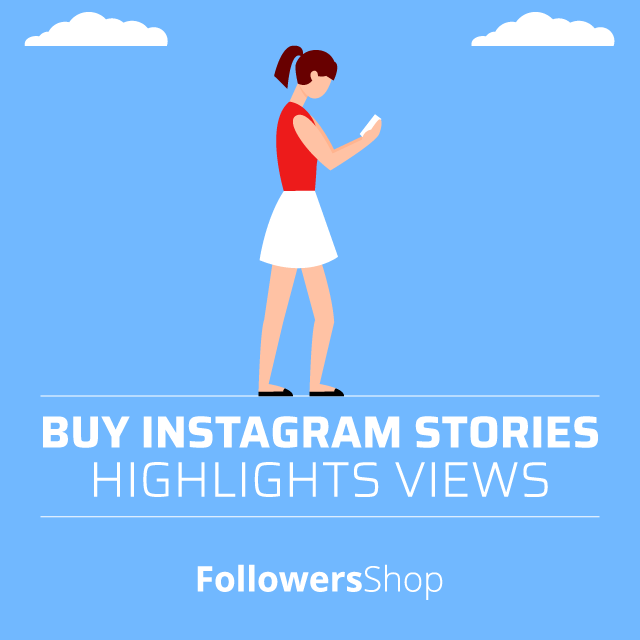 buy instagram stories highlights views