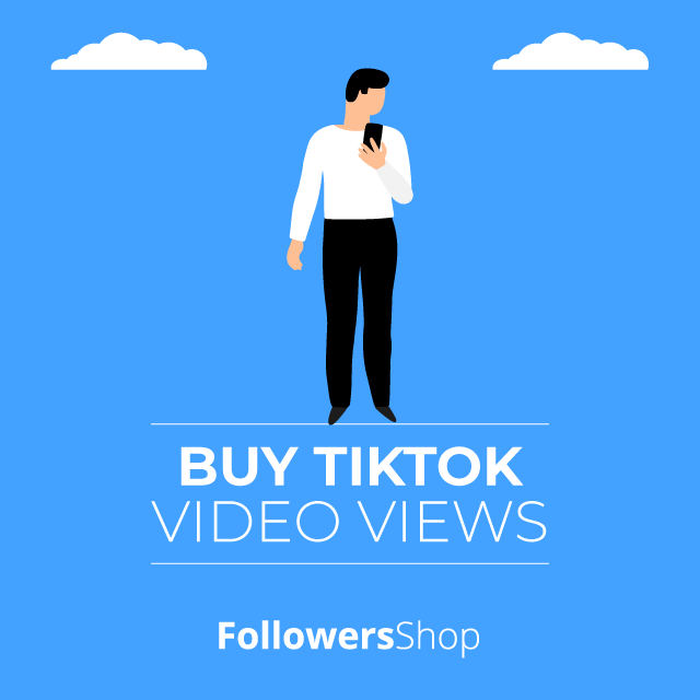 Buy TikTok Video Views - 100% Safe & Real