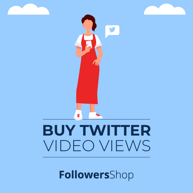 Buy Twitter Video Views - REAL & ACTIVE