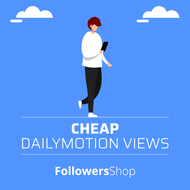 Cheap Dailymotion Views