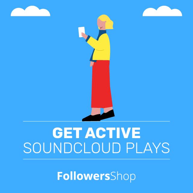 get active soundcloud plays