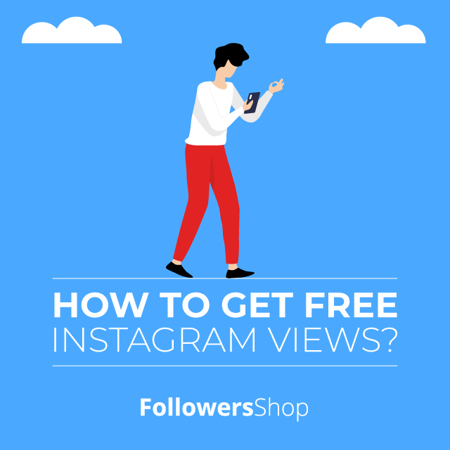 how to get free instagram views