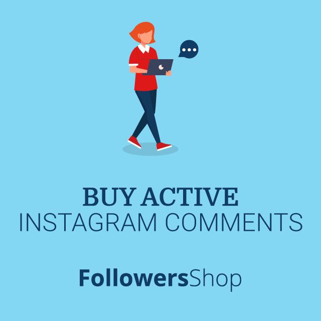 buy active instagram comments
