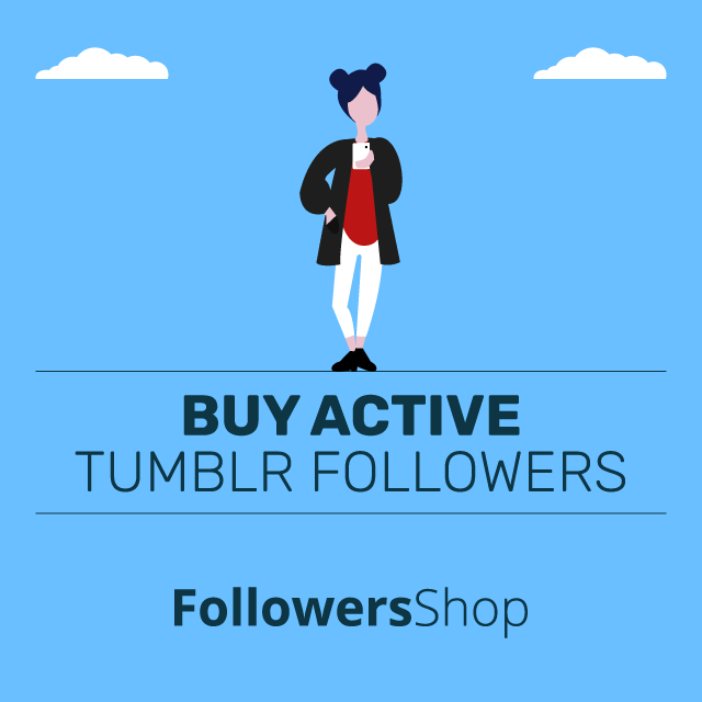 buy active tumblr followers