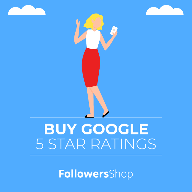 buy google 5 star ratings