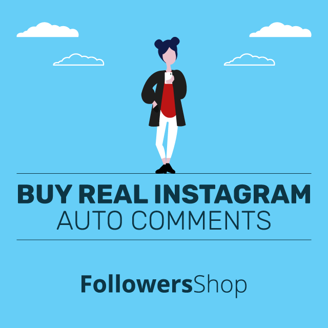 buy real auto instagram comments