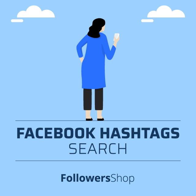 facebook hashtag search