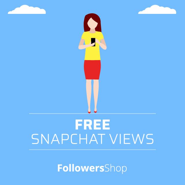 free snapchat views