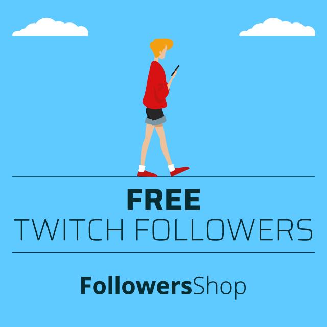 free twitch followers