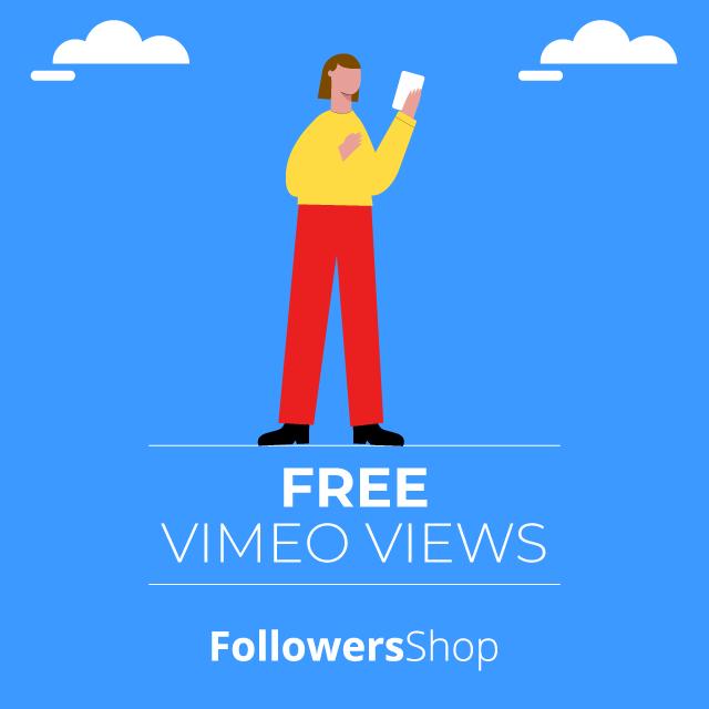 free vimeo views