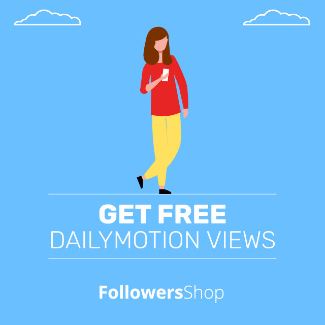 get free dailymotion views