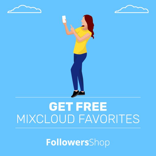 get free mixcloud favorites