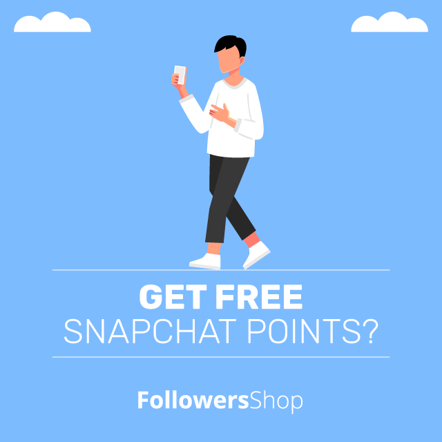 get free snapchat points