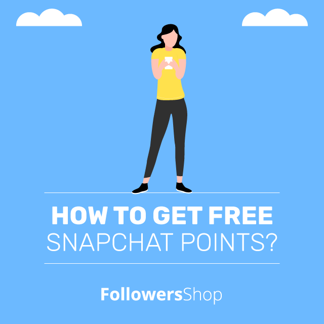 how to get free snapchat points