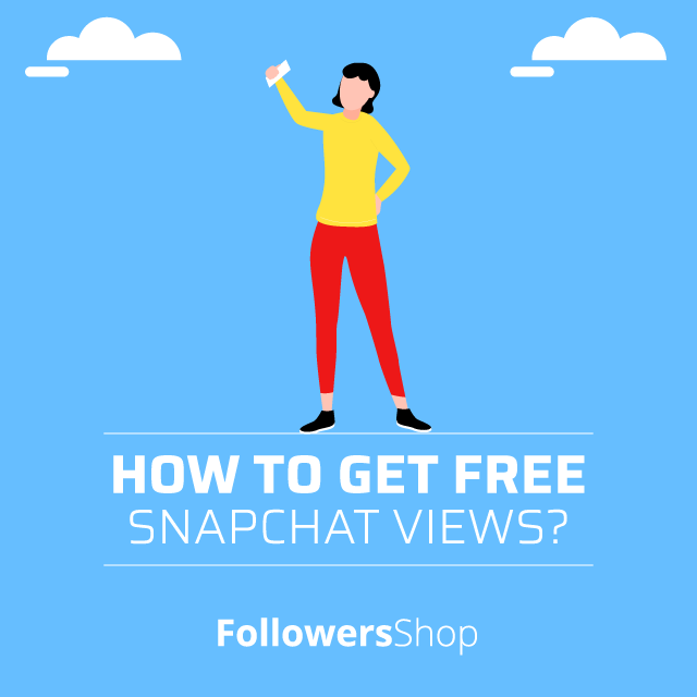 how to get free snapchat views