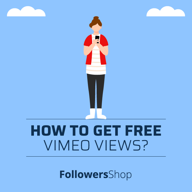 how to get free vimeo views